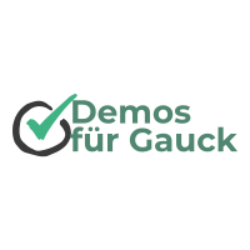 Demos für Gauck